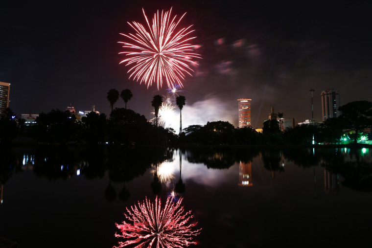 Image: New Year's Eve celebration in Nairobi