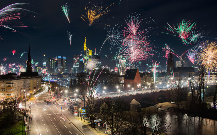 Image: Germany New Year Celebrations