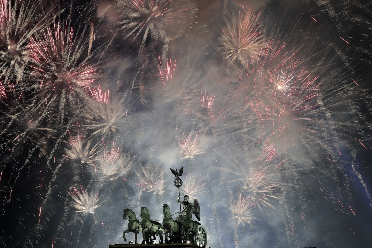 Image: Berlin New Years Eve