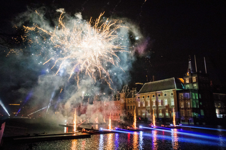 Image: New Year's Eve Celebration in The Hague