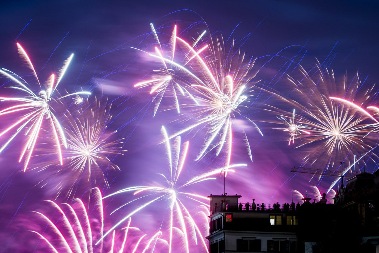 Image: New Year's Eve Celebration in Zurich