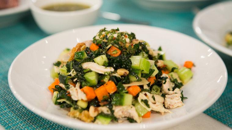 Salsa verde salad