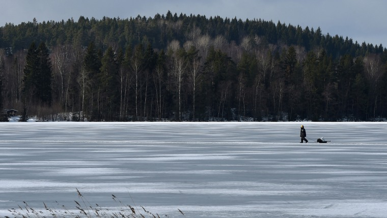 FINLAND-WINTER-WEATHER-FEATURE