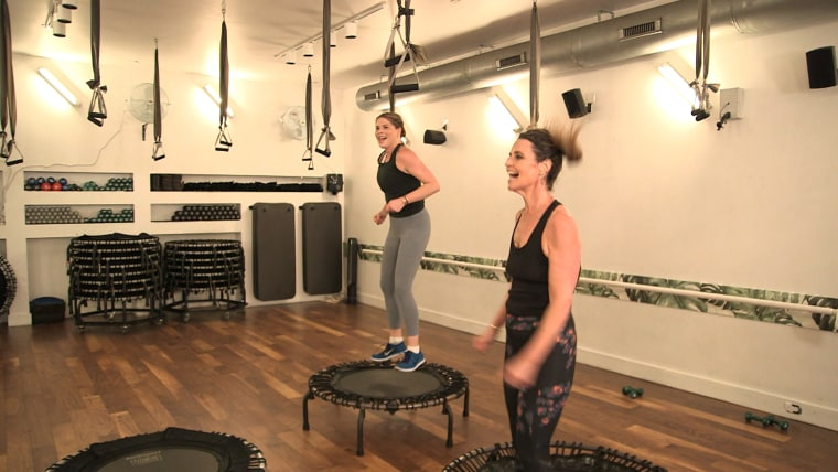 Savannah Guthrie and Jenna Bush Hager are using teamwork to help stay in shape in 2018.