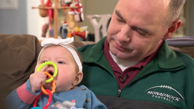 Police officer donates liver to save baby's life