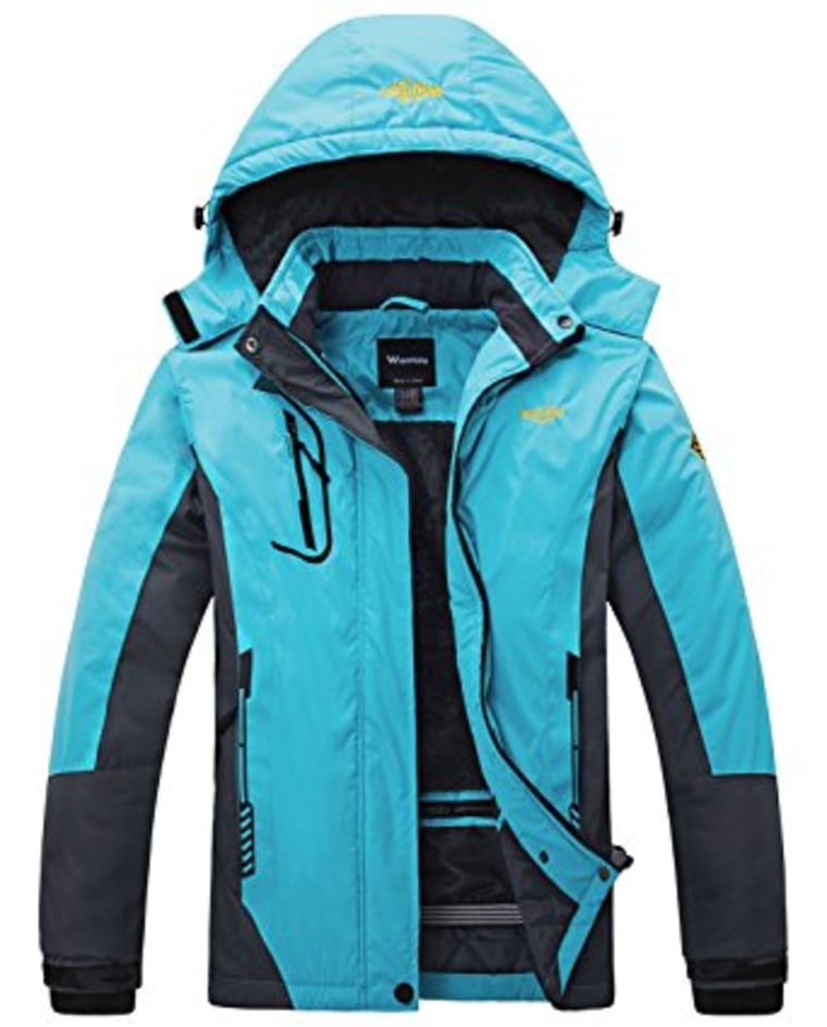 Wantdo waterproof jacket in teal