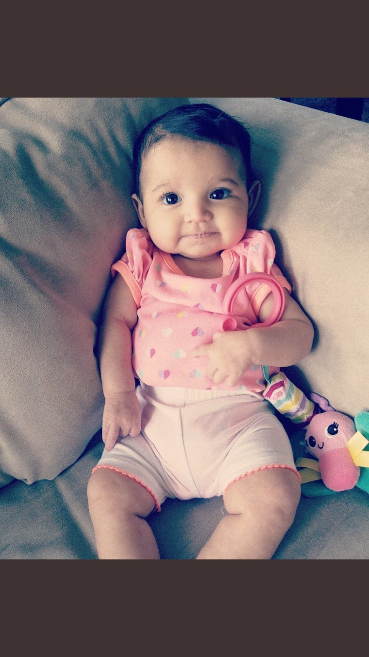 Ava Deais of San Antonio, Texas was diagnosed with hydronephrosis soon after she was born.
