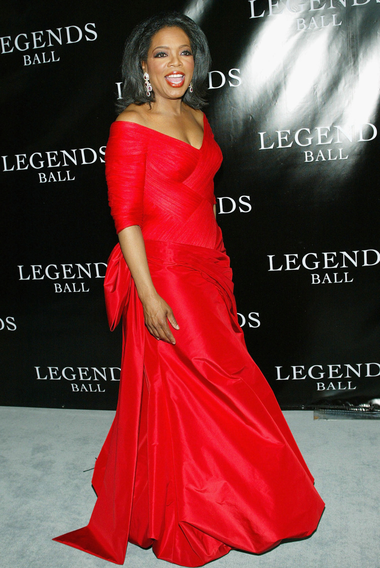 Oprah Winfrey Host The Legends Ball