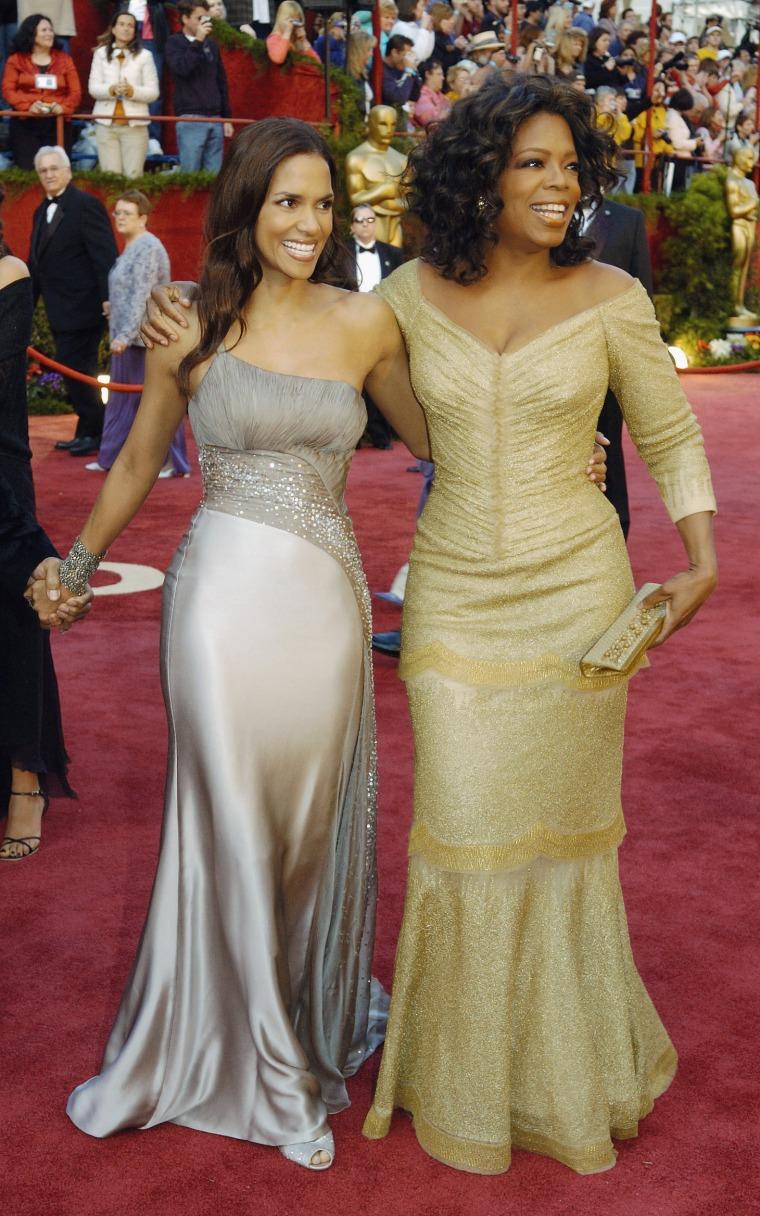 Oprah Winfrey, Halle Berry