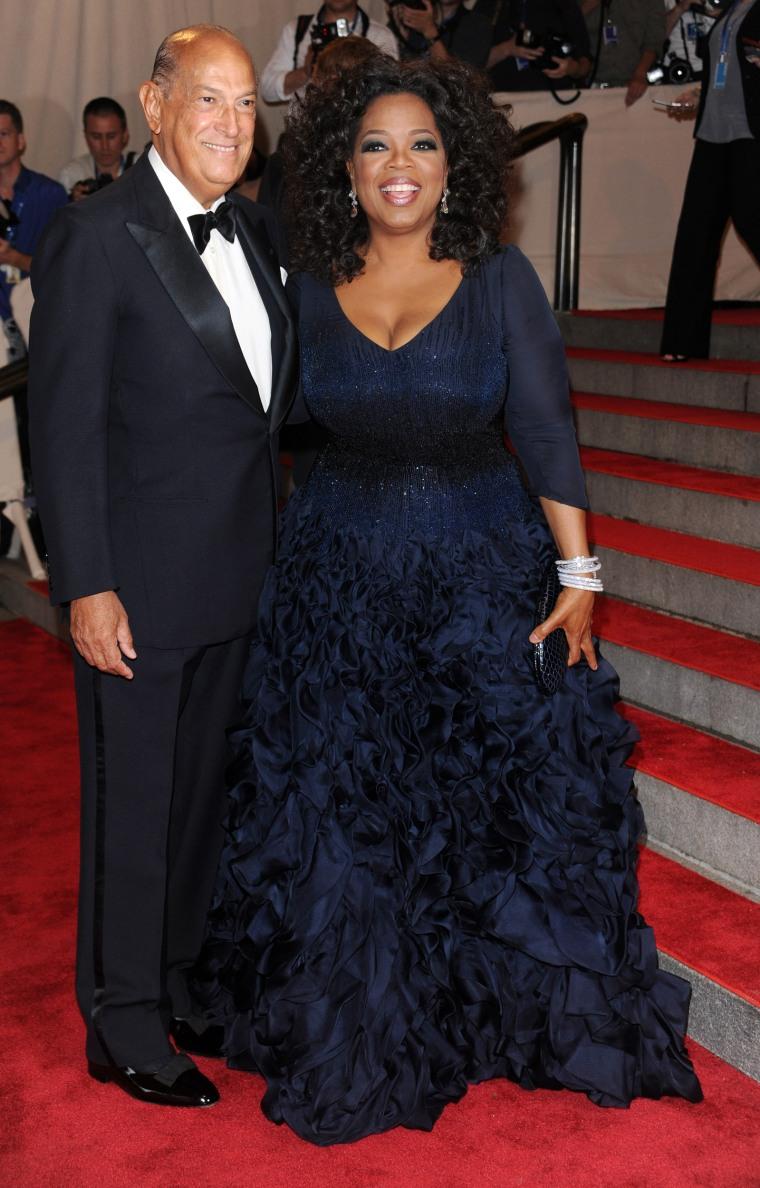 Oprah Winfrey, Oscar de la Renta
