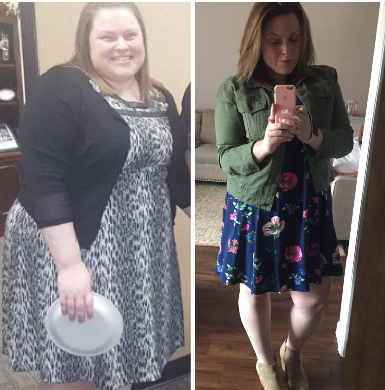 How to lose 100 pounds: Woman loses 100 pounds in 1 year