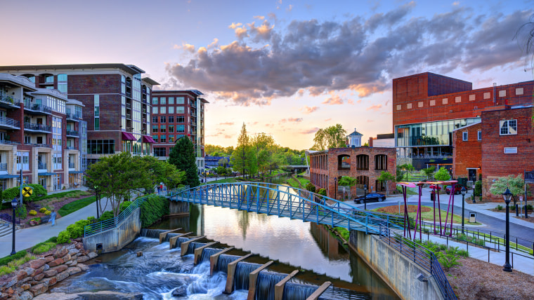 A vibrant picture of Greenville, South Carolina