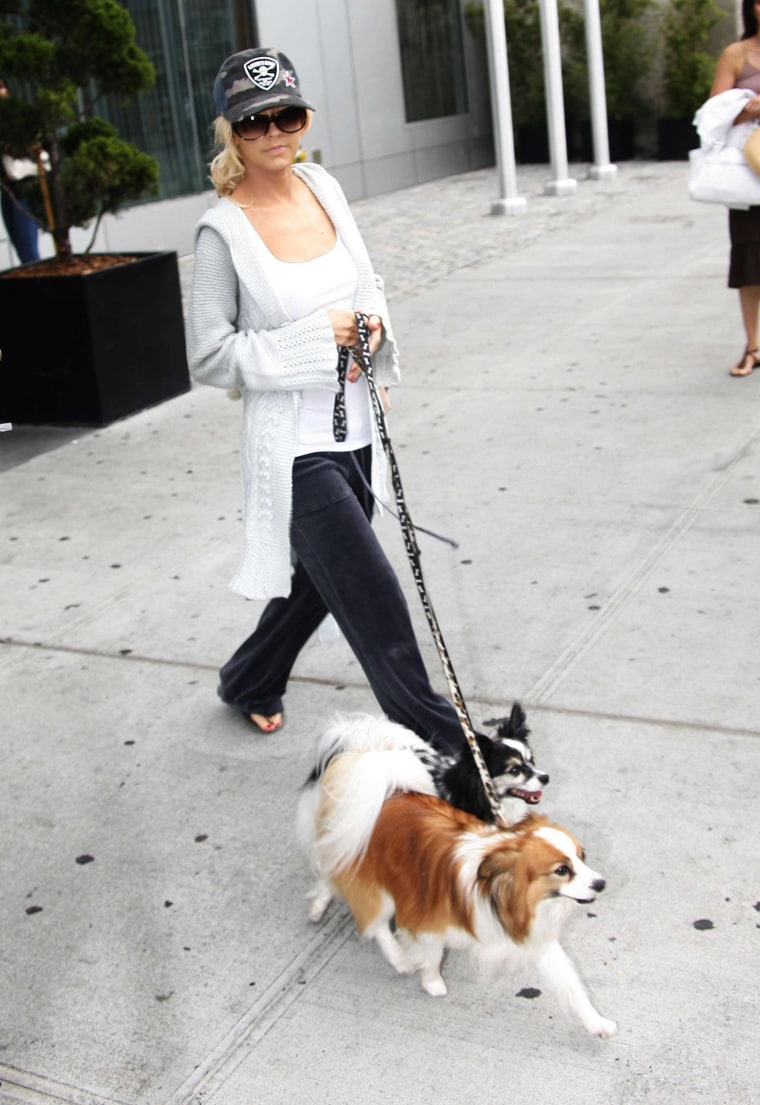 Christina Aguilera Sighting - August 19, 2006