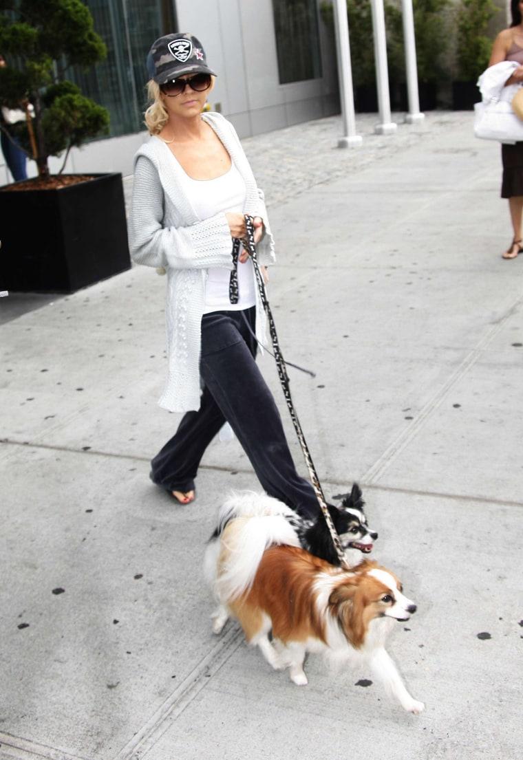 Christina Aguilera Sighting - August 19, 2006