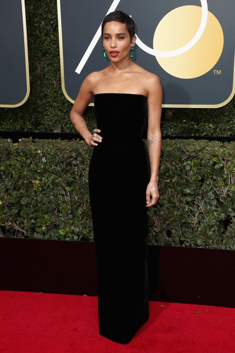 Golden Globes red carpet 2018: Black dresses at the awards show
