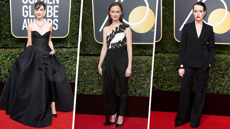Suits Tuxes And More Women Wear The Pants At The Golden Globes