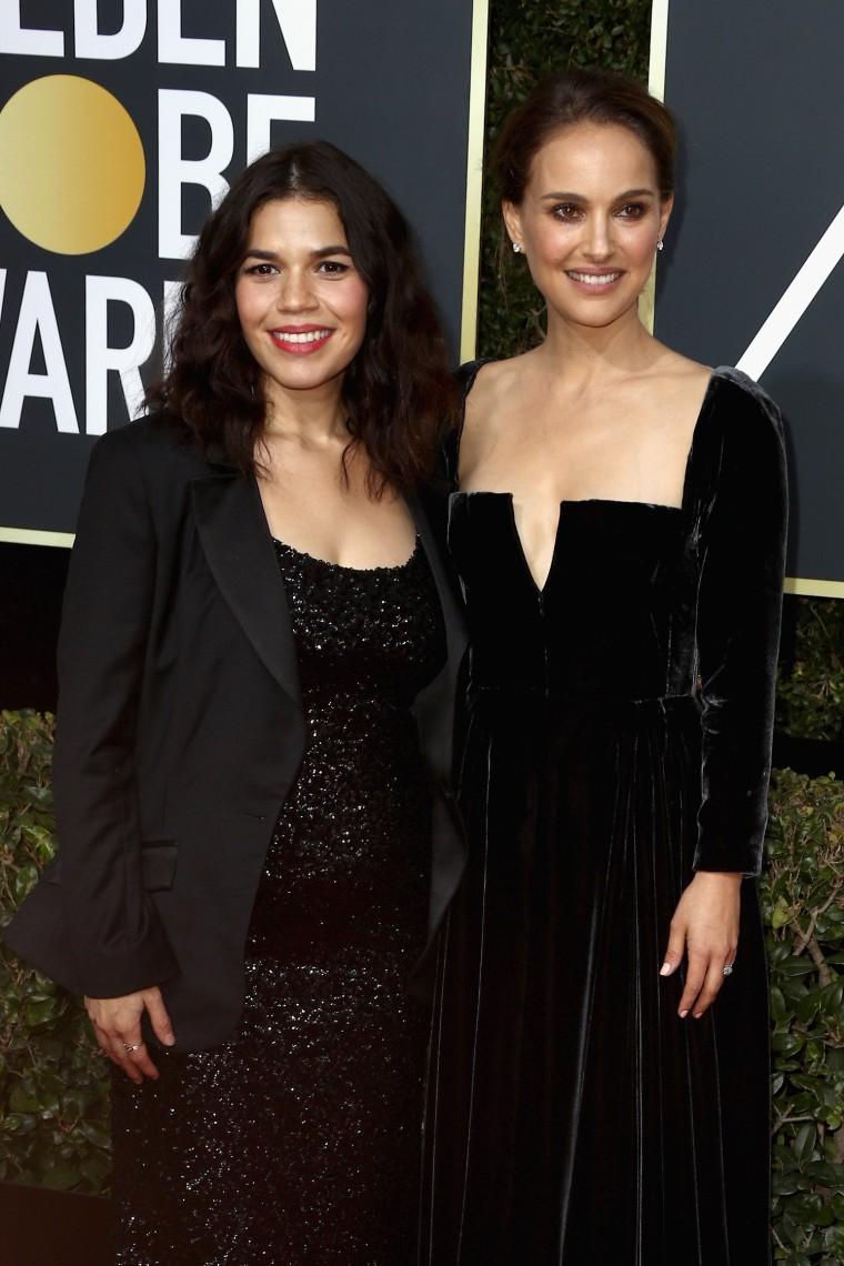 Natalie Portman and America Ferrera