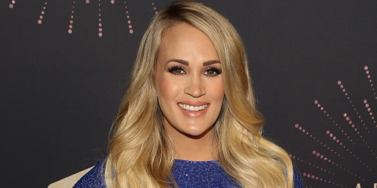 Carrie Underwood for a post about a cute Insta video