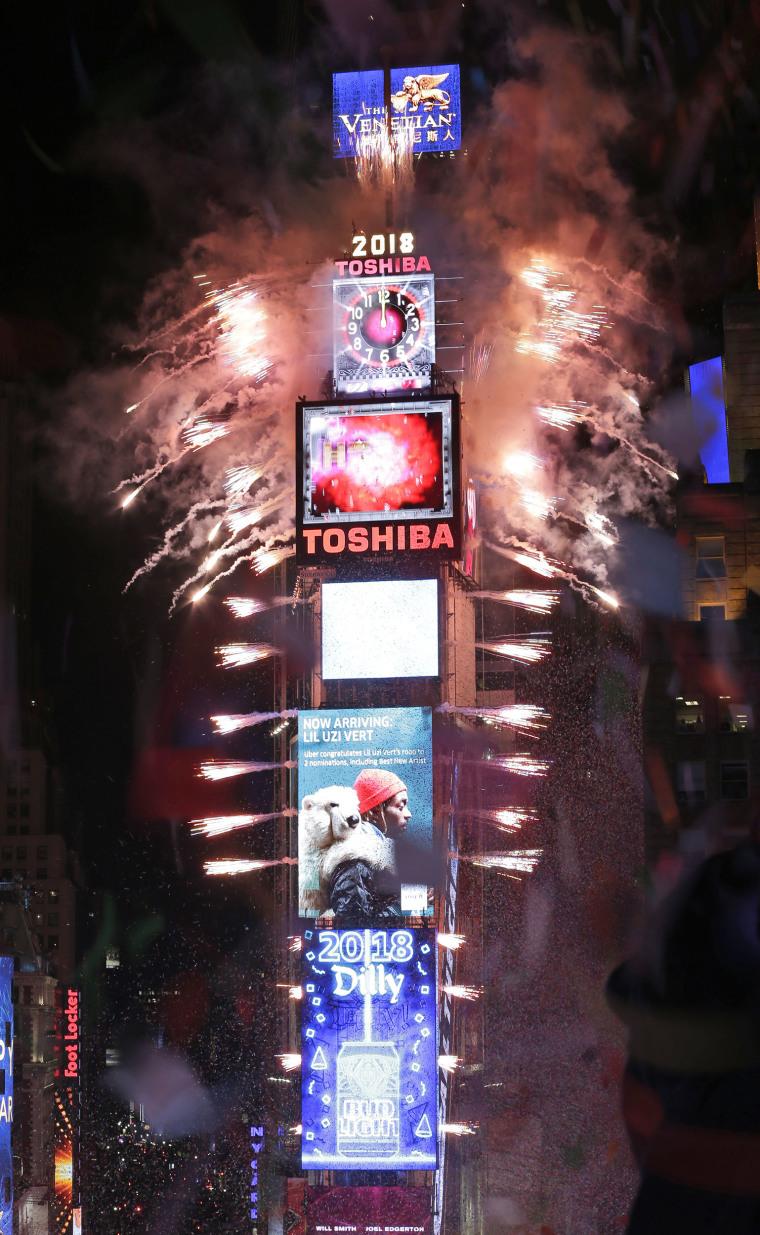 Image: NYC New Years Celebrations