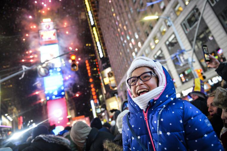 Image: NYC New Years Eve Celebration