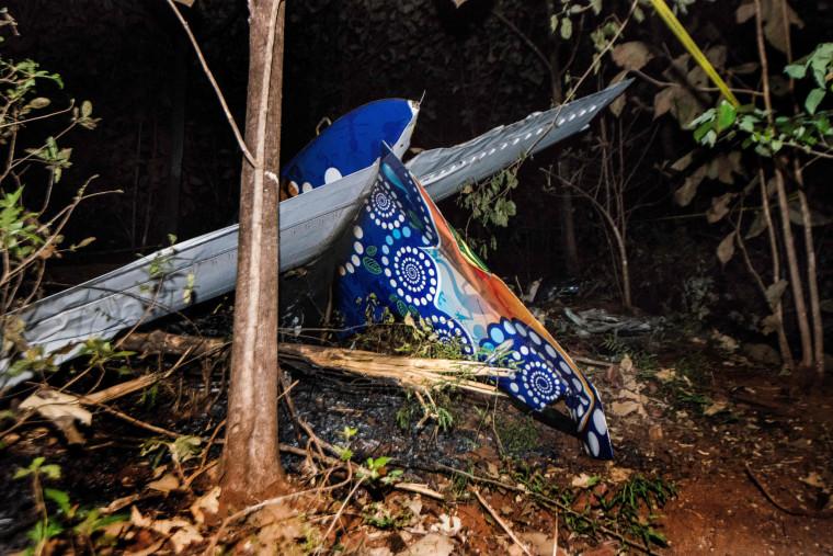 Image: COSTARICA-US-PLANE-ACCIDENT
