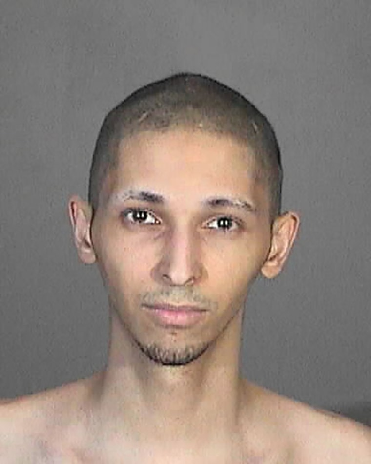 Image: Tyler Barriss appears in a 2015 police booking photo in Glendale