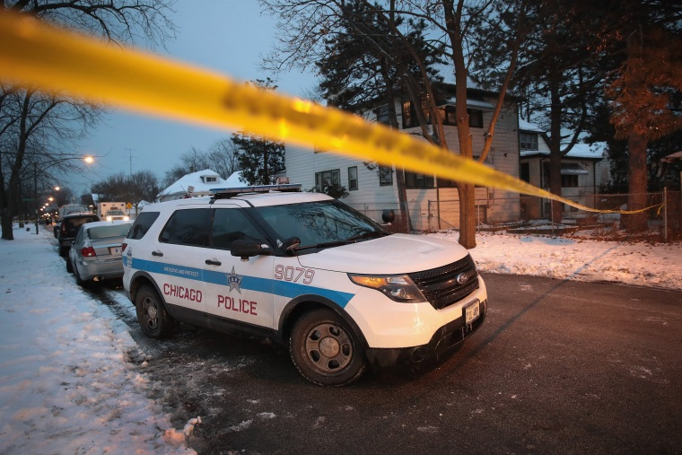 Image: Four Dead In Chicago Shooting