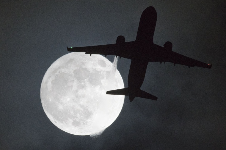 Image: London Supermoon