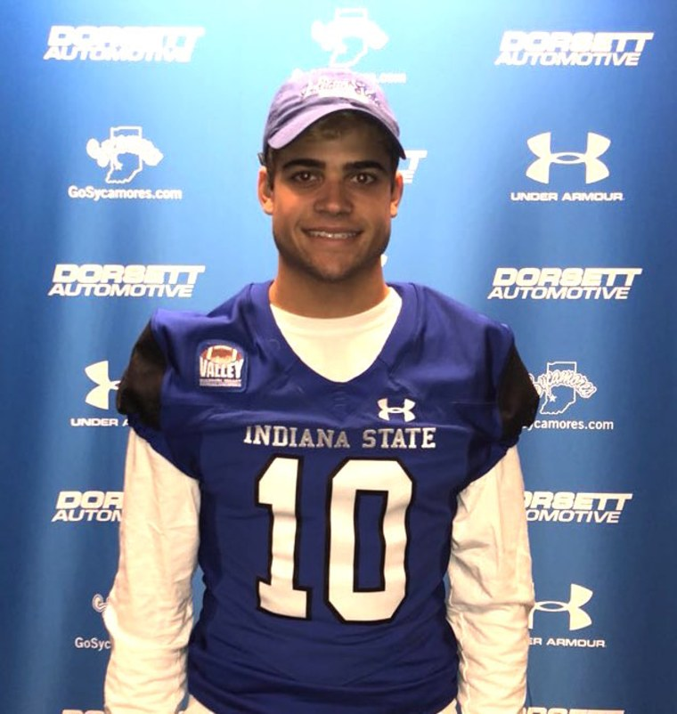 High school running back Jake Bain will be playing football at Indiana State University.
