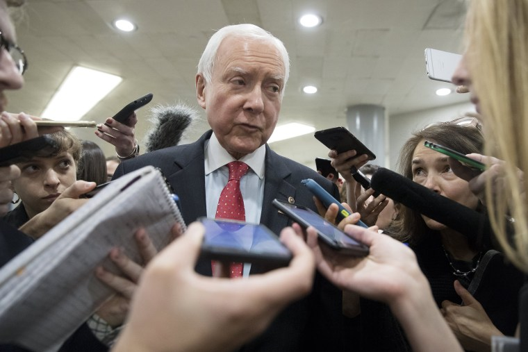 Image: US Senator Orrin Hatch plans to retire