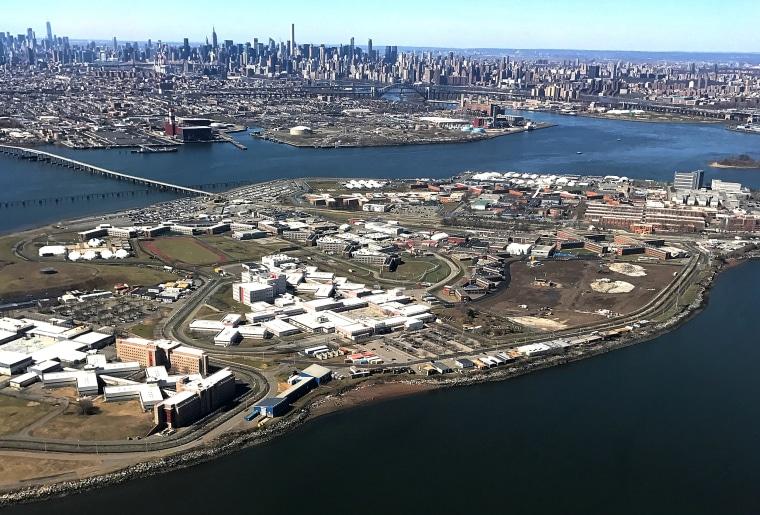 Image: The Rikers Island Prison complex