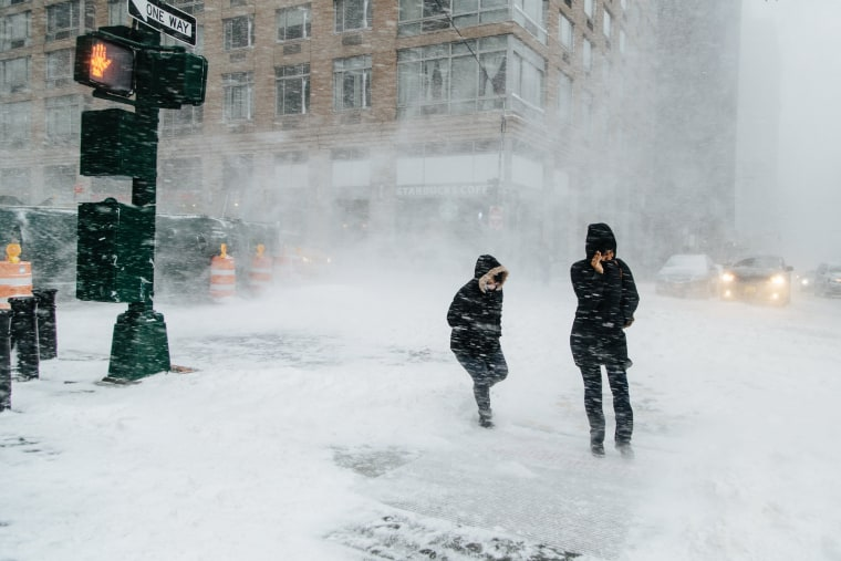Image: Winter storm in New York