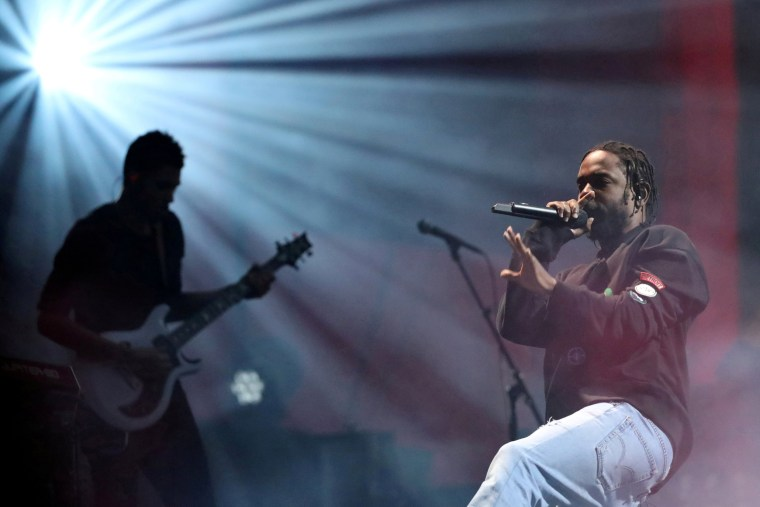 Image:  Kendrick Lamar performs at the Global Citizen Festival at Central Park