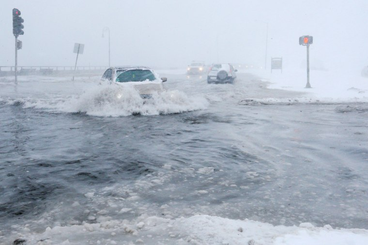 Image: Boston storm
