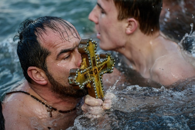 Image: TOPSHOT-TURKEY-RELIGION-ORTHODOX-EPIPHANY