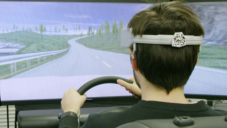 Nissan's Brain-to-Vehicle, or B2V, technology could lead to cars that keep adapting to make driving more enjoyable.