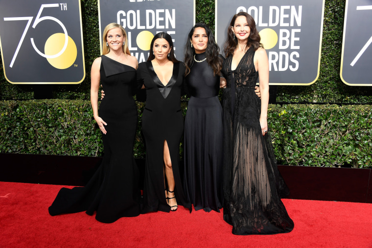 Image: Reese Witherspoon, Eva Longoria, Salma Hayek, and Ashley Judd