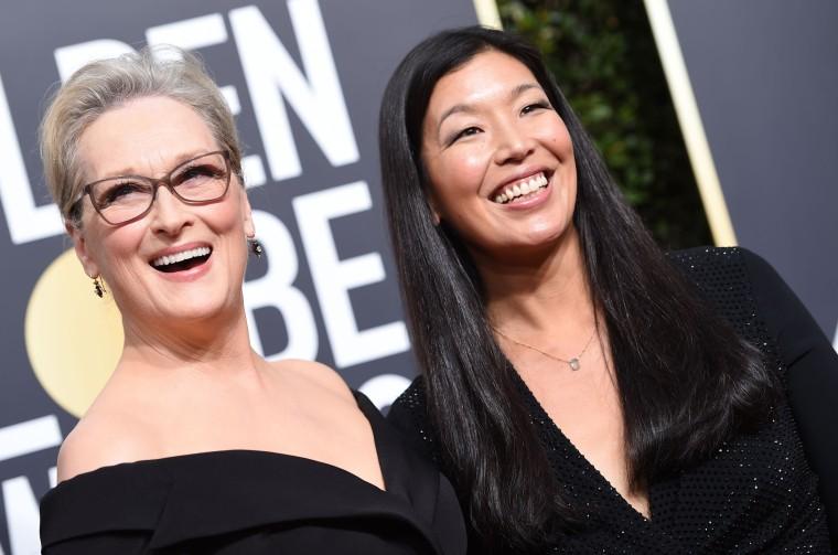 Image: Meryl Streep and Ai-jen Poo