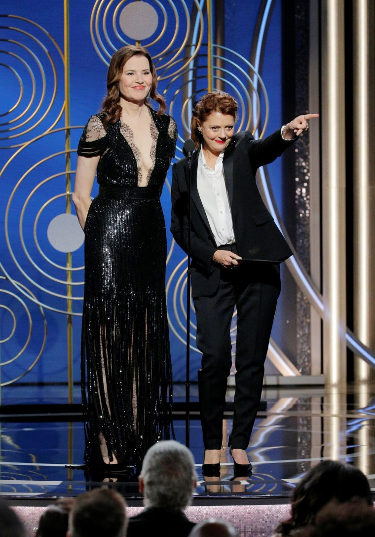 Image:  Geena Davis and Susan Sarandon