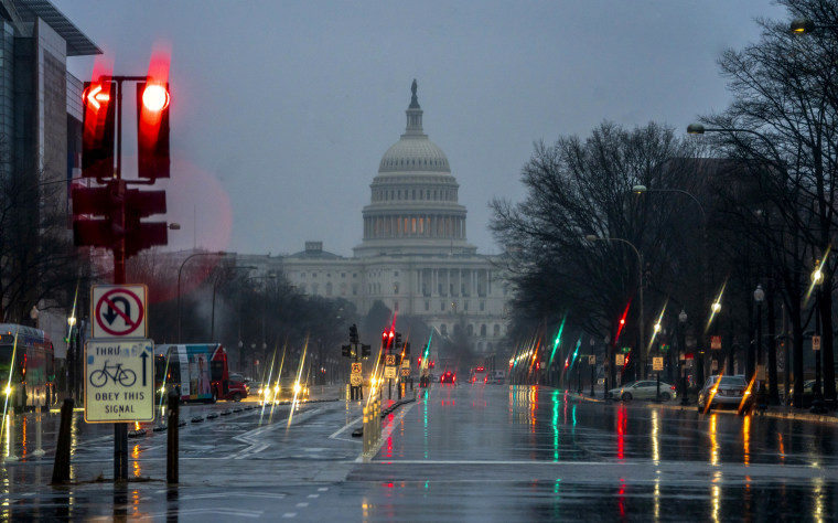 Image: The Capitol during the partial government shutdown on Dec. 28, 2018.
