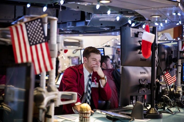 Last Day Of Trading For 2018 On The Floor Of The NYSE