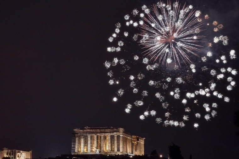 Image: GREECE-NEW YEAR-CELEBRATIONS