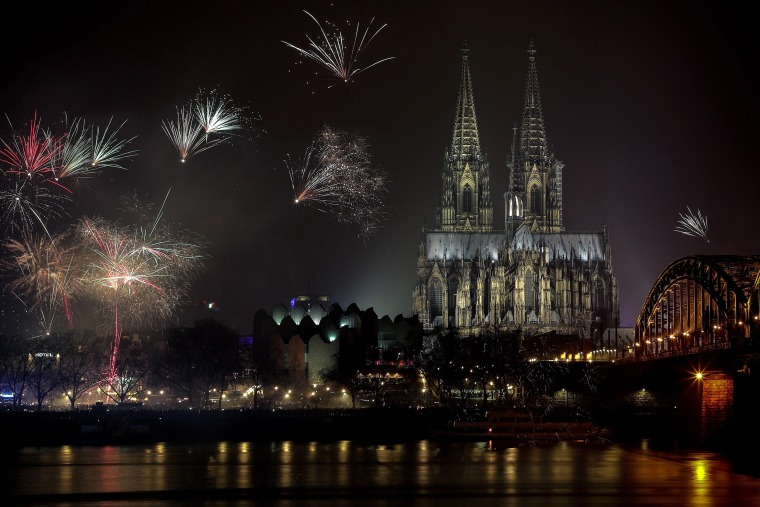 Image: New Year's Eve 2019 celebrations in Cologne