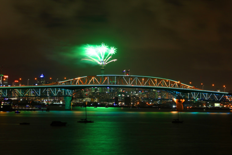 Image: Auckland New Year's Eve 2018