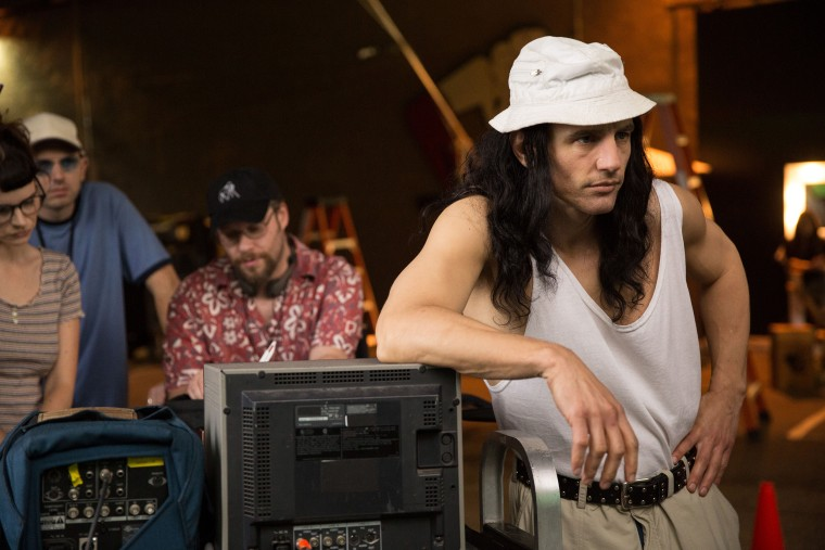 THE DISASTER ARTIST, James Franco, 2017. ph: Justina Mintz. (C)A24/courtesy Everett Collection