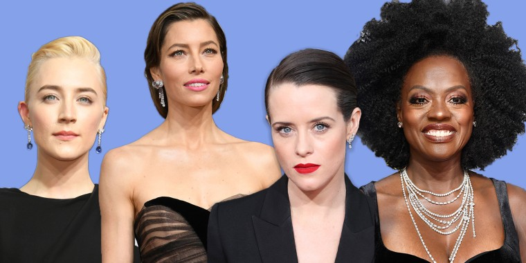 Golden Globes hairstyles
