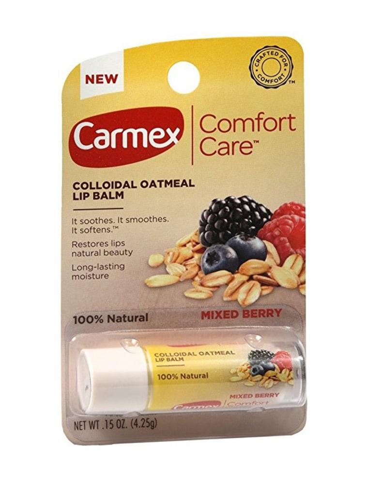 Carmex Comfort Care Colloidal Oatmeal Lip Balm, $5, Amazon