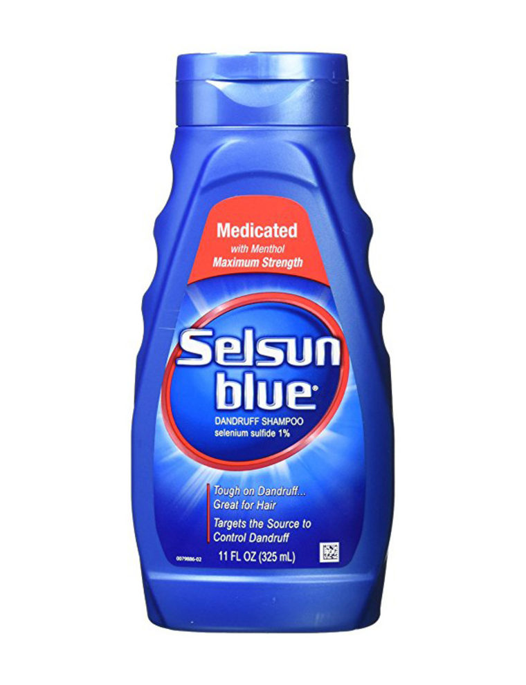 Selsun Blue Medicated Dandruff Shampoo, $14, Amazon
