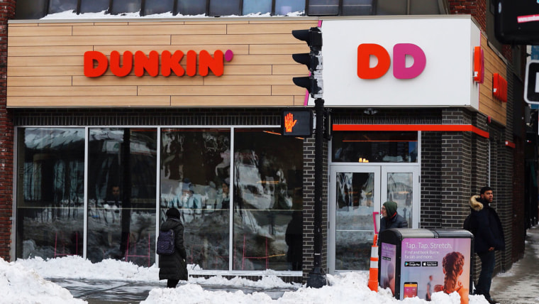 Image: Changes at Dunkin Donuts