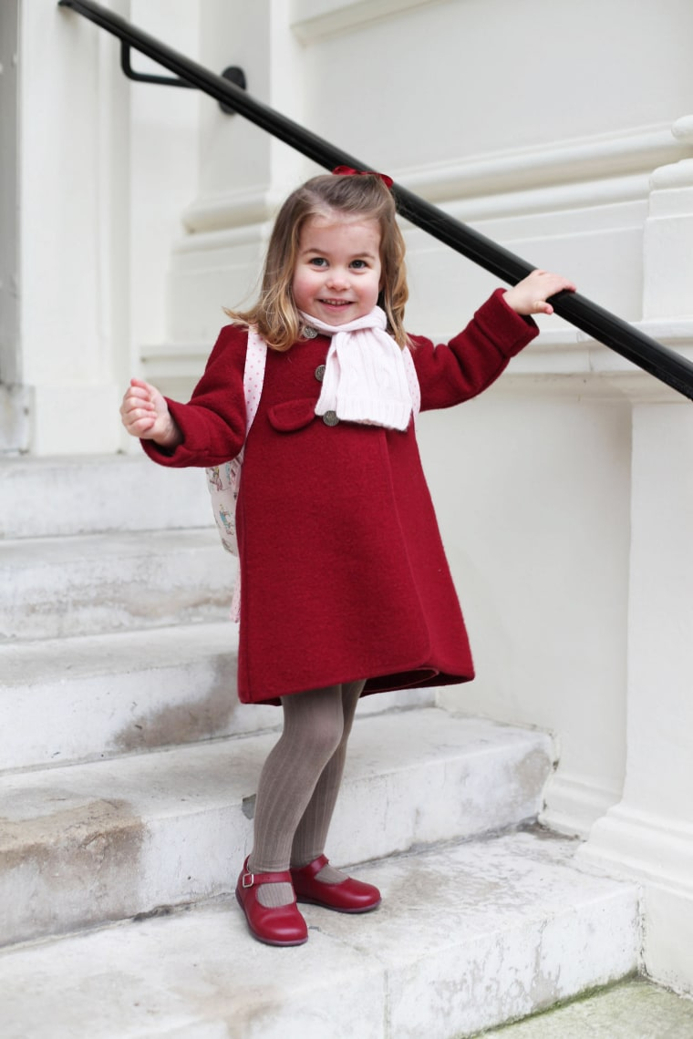 Image: Princess Charlotte attends nursey